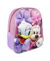 Disney Minnie Mouse/Katrien Duck school rugtas/rugzak voor peuters/kleuters/kinderen