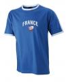 Feest Blauw t-shirt voetbal France