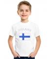 Feest kinder t-shirt vlag Finland