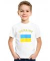 Feest kinder t-shirt vlag Oekraine