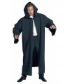 Feest Luxe zwarte mantel
