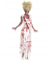 Feest Prom Queen zombie kostuum