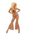 Feest Seventies catsuit voor dames
