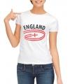 Feest t-shirt England fan voor dames