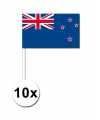 Feest zwaaivlaggetjes Nieuw Zeeland 10x