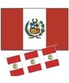 Feestartikelen Peru versiering pakket