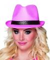 Gaypride hoed roze trilby