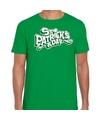 Groen St. Patricks day t-shirt heren