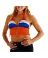 Hollandse kleuren bikini tops voor dames