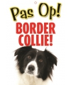 Honden waakbord Border Collie