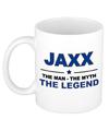 Jaxx The man, The myth the legend beterschap cadeau mok/beker 300 ml