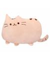 Katten/poezen sier/bank kussentjes beige 40 cm
