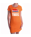 Koningsdag jurk oranje de koningin is thuis voor dames