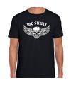 Mc Skull fashion t-shirt rock / punker zwart voor heren