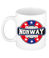 Norway / Noorwegen embleem mok / beker 300 ml