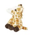 Pluche giraffe knuffel gevlekt sleutelhanger 10 cm speelgoed
