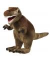 Pluche T-rex dinosaurus 20 cm lang