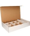 Stropdassen opbergen sorteerdoos met 15 vakken
