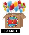 Voordeelpakket 7 jaar thema feestartikelen