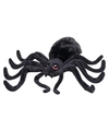 Zwarte pluche spin knuffel 40 cm